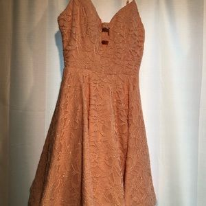 Short Pink Semi-Formal Dress